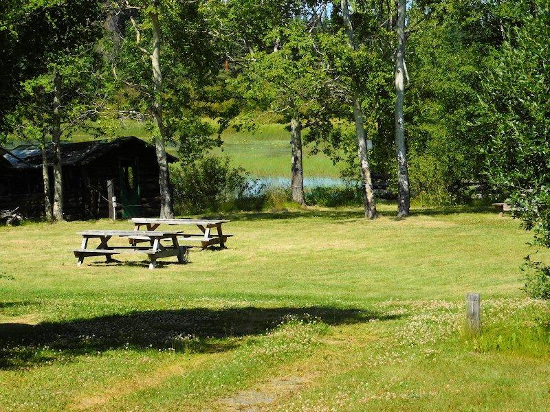 RV Campsites at Anahim Lake Resort