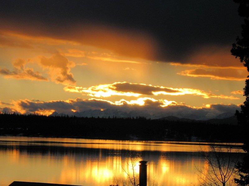 Chilcotin Sunset, Anahim Lake, BC